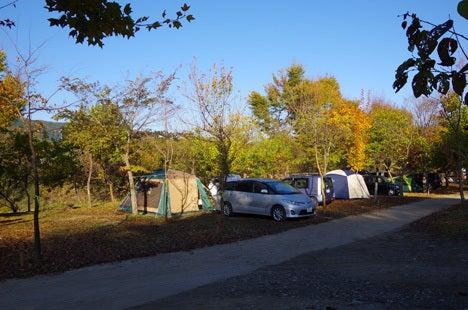 長瀞オートキャンプ場、テントサイトの詳細