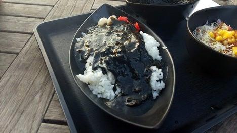 嵐山PAオリジナル ブラックカレー!4