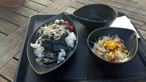 嵐山PAオリジナル ブラックカレー!3