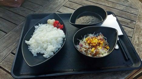 嵐山PAオリジナル ブラックカレー!1