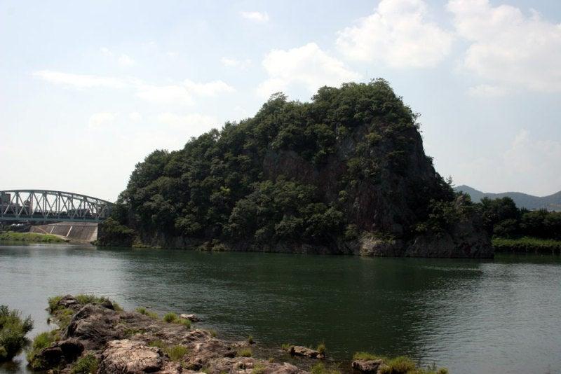 鵜沼城_犬山側からの遠景
