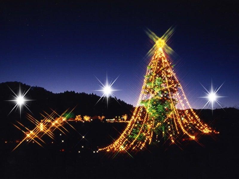 宮ヶ瀬クリスマス 宮ケ瀬光のメルヘン