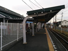 竹鼻駅上屋