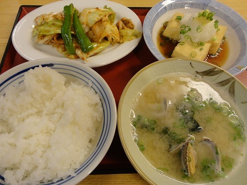 城南堤食堂