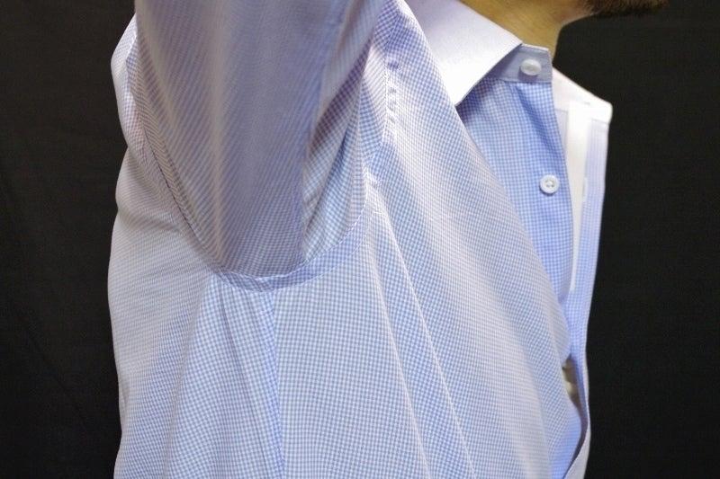 後付けの袖