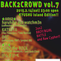 BACK2CROWD…