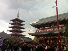 五重塔と浅草寺