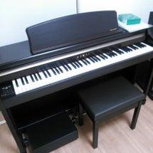 電子ピアノ届いた