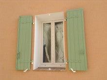 プロヴァンスの家 窓