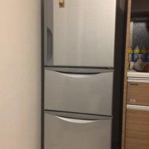 新しい冷蔵庫がやって…