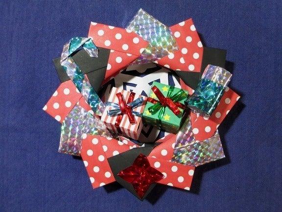 すべての折り紙 折り紙 キャンディボックス : ... - 折り紙のリース
