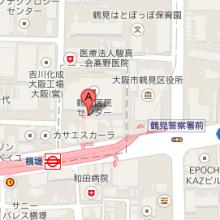 鶴見区民センター地図
