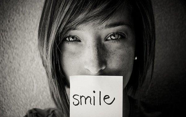 笑顔になる