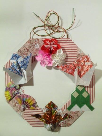 簡単 折り紙 お正月の折り紙 : ameblo.jp