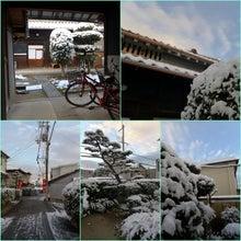 正月二日目 雪の朝