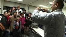 石田ファンと記念写真