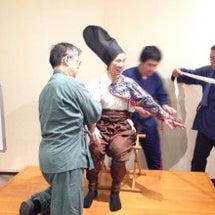 靖国神社で甲冑体験