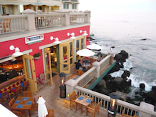 Montereyの海岸のCafé