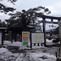 荘内神社さんで新年の…