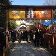 茨木神社で安全祈願