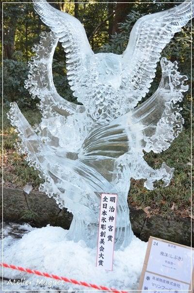 20150111明治神宮氷1