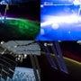 宇宙空間から地球を見…