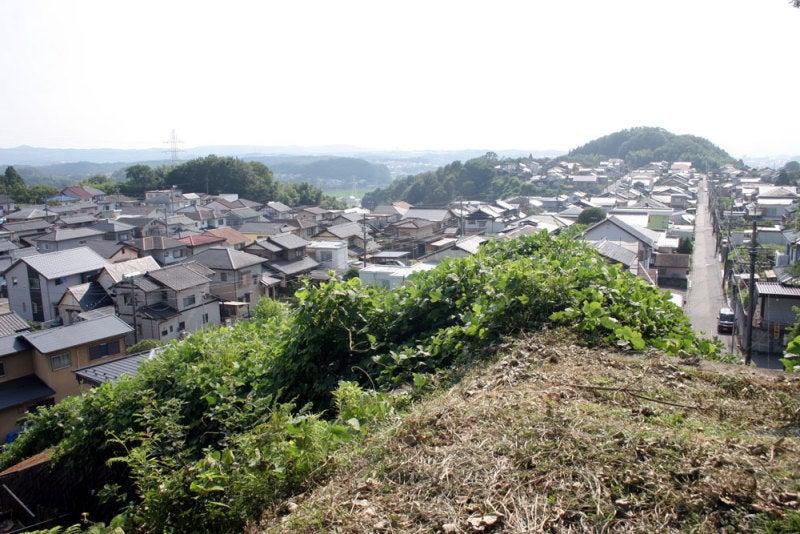 明智城/⑥西の丸からの眺め