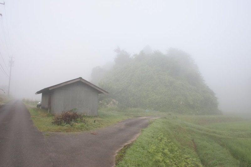 飯羽間城/①霧
