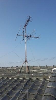 地デジ・BS/110度CSアンテナ工事とLAN工事