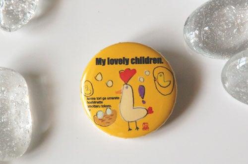 子供の絵でつくる缶バッジ