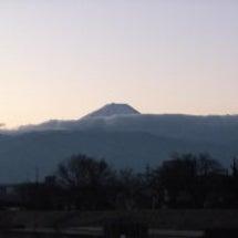 早朝ジョグ・富士山・…