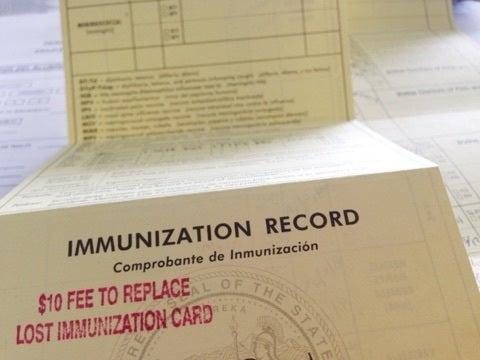 予防 接種 英語 版