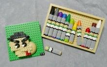 レゴのクレヨンでしんちゃんを描いてみた