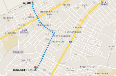 グーグル地図2