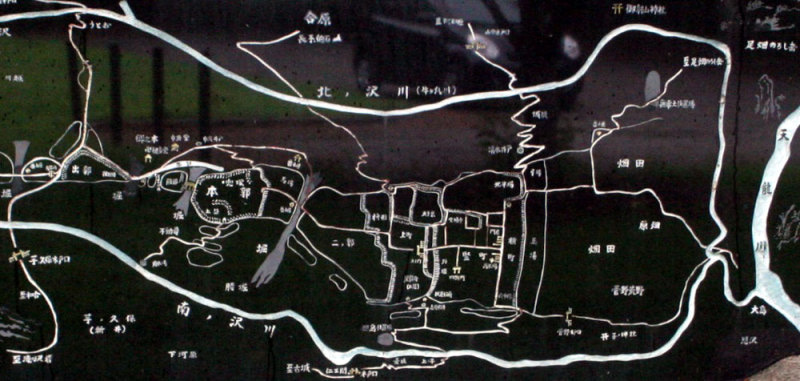 吉岡城/図