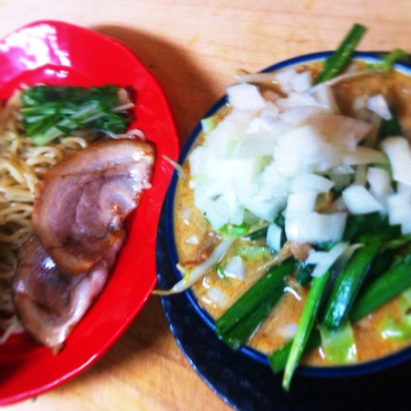 胡麻味噌つけ麺