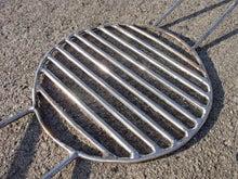 魚を炭火焼するときに使う炭の受け網の修理