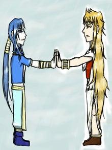 ヴァルナ(左)とミスラ(右)