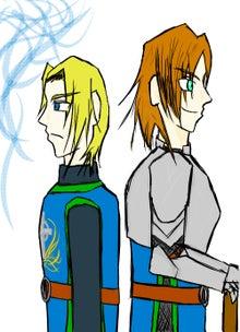 ルーカン(左)とベディヴィア(右)