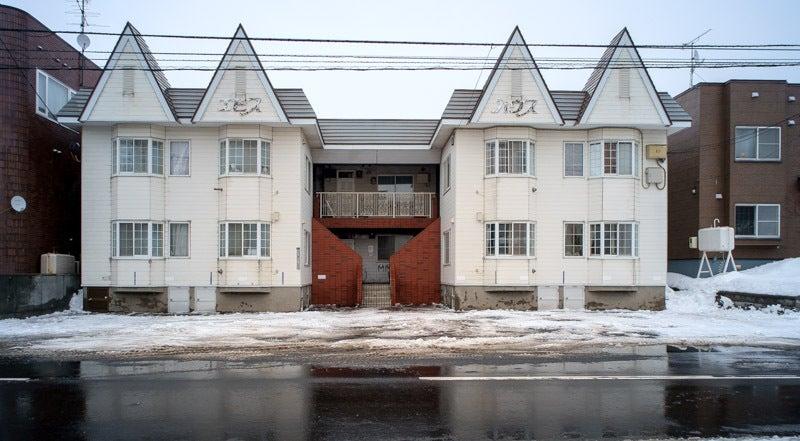 アパート排雪