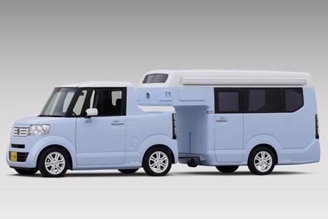 ホンダは、新提案のキャンピングカーを発表!