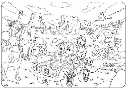 ディズニー 塗り絵 無料 印刷(ダウンロード)一覧 2015年3月 ...