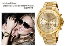 402e6c2da85d ... MICHAEL KORS マイケルコース Dial Gold-tone クロノグラフ ゴールド レディース 腕時計