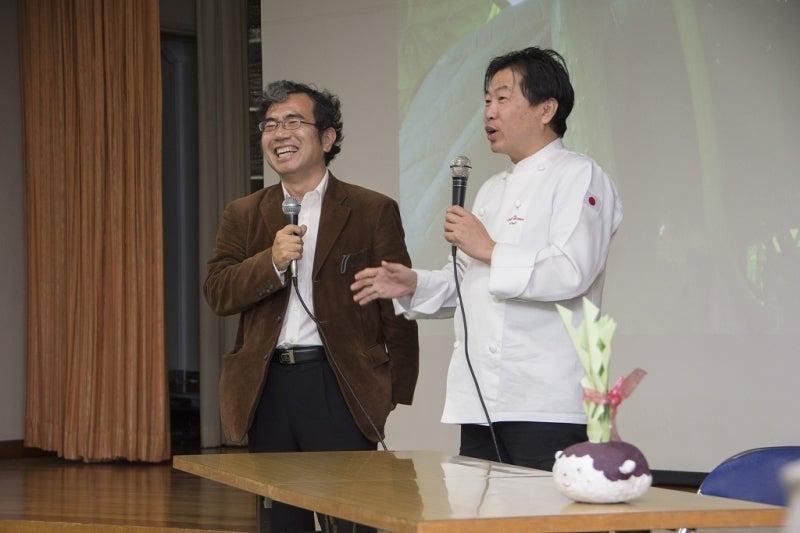 江頭先生と奥田シェフ
