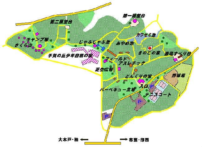 手賀の丘公園 バーベキュー