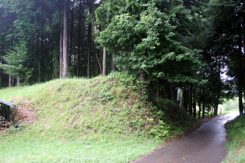 飯島城/④本城の土塁