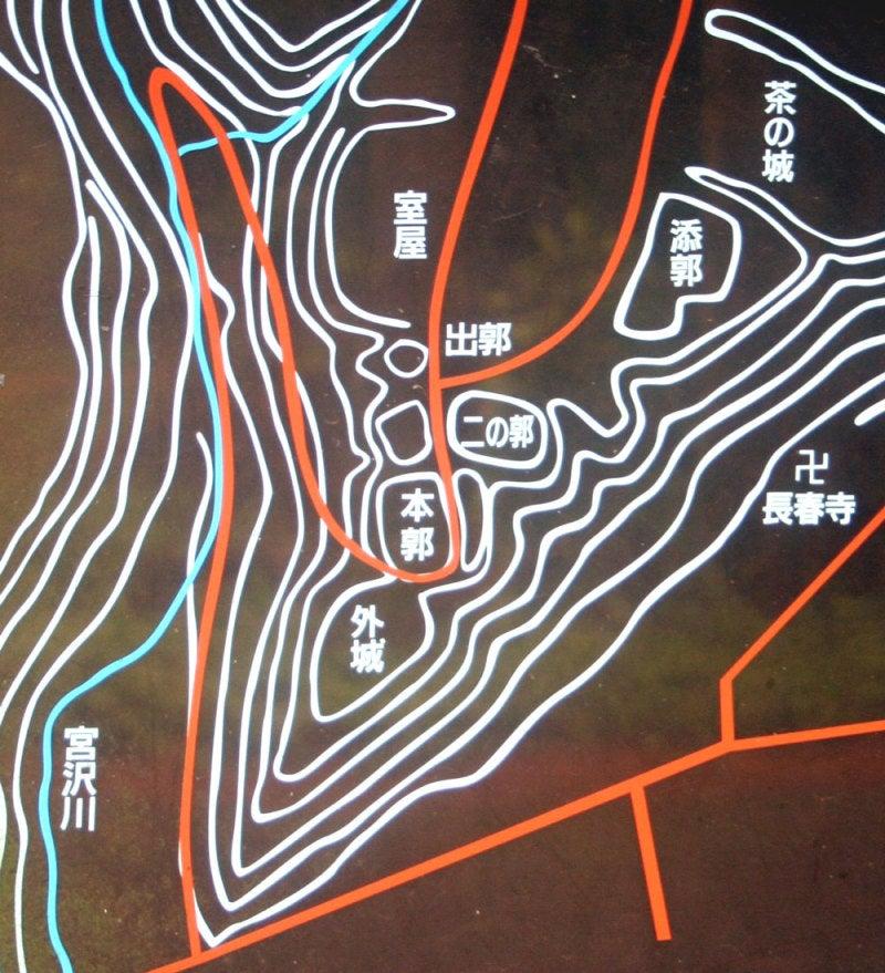 赤須城/①案内図
