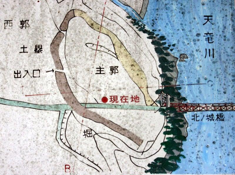 北の城/①案内図