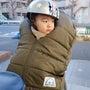 子供の自転車寒さ対策…