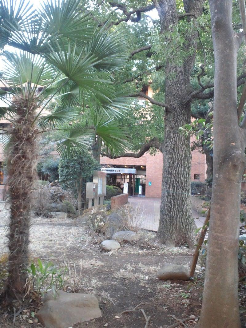 前庭方面から玄関の眺め